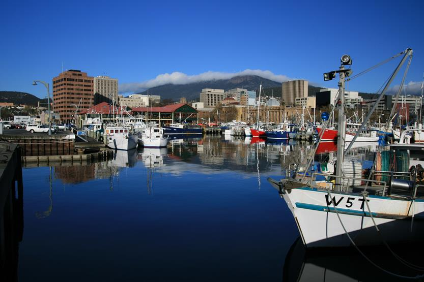 Hobart at Christmas