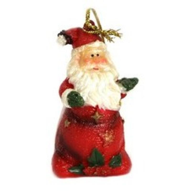 P/rsin Santa Hanging