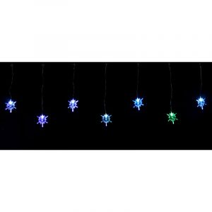 30 Led Snowflakes Light Set