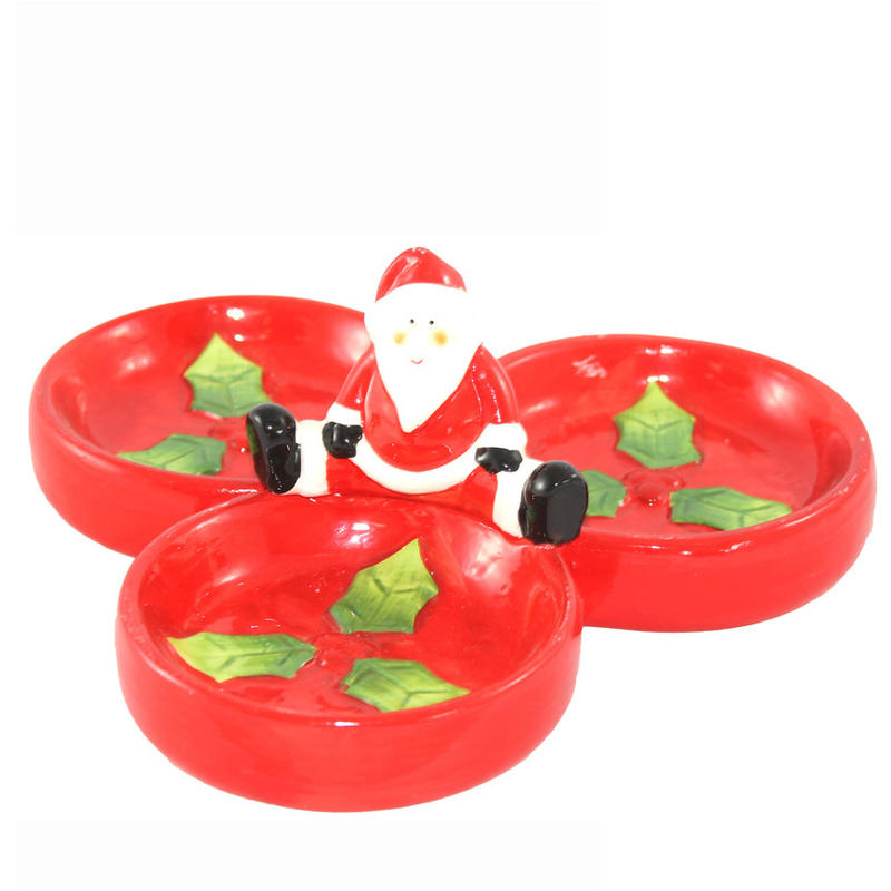 Santa Section Platter