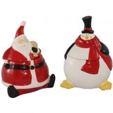 Penguin candle Holder