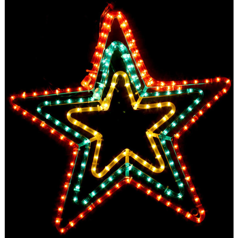 3 Band Star Motif