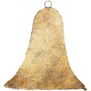 Gold Rattan Bell