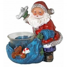 Blue Bag Santa
