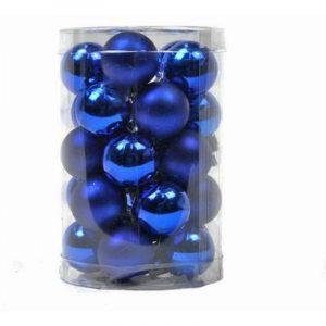Blue Baubles 25mm