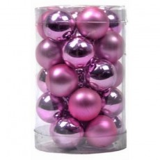 Baby Pink Baubles 25mm