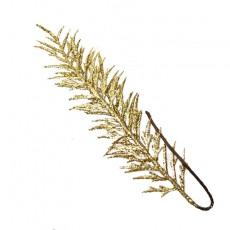 Gold Glitered Fern Leaf 60Cm