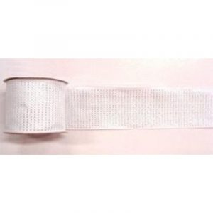 Small Silver Star Ribbon 9M