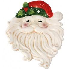 Santa Face Platter
