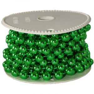8MM BEAD GARLAND 5M Green