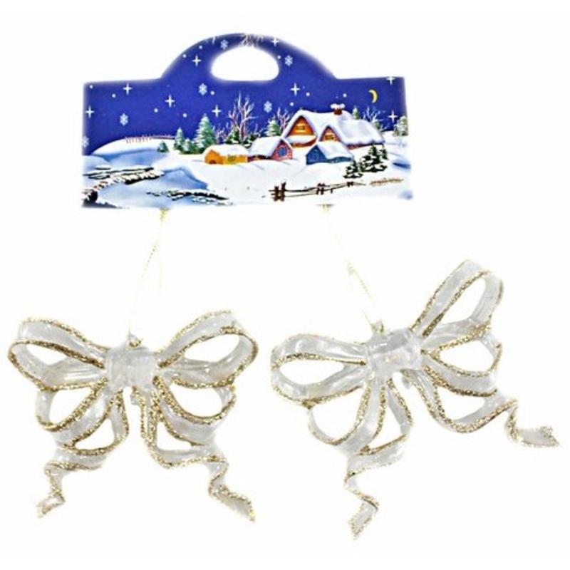 Acrylic Bows Hanging