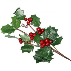 Holly Branch 35Cm