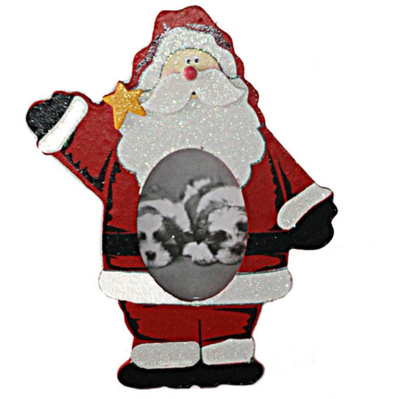 Santa Photo Frame