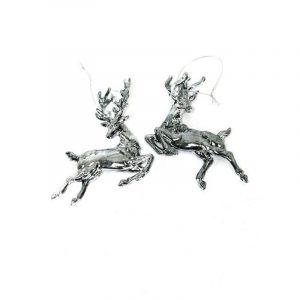 Jumping Deer Ornament