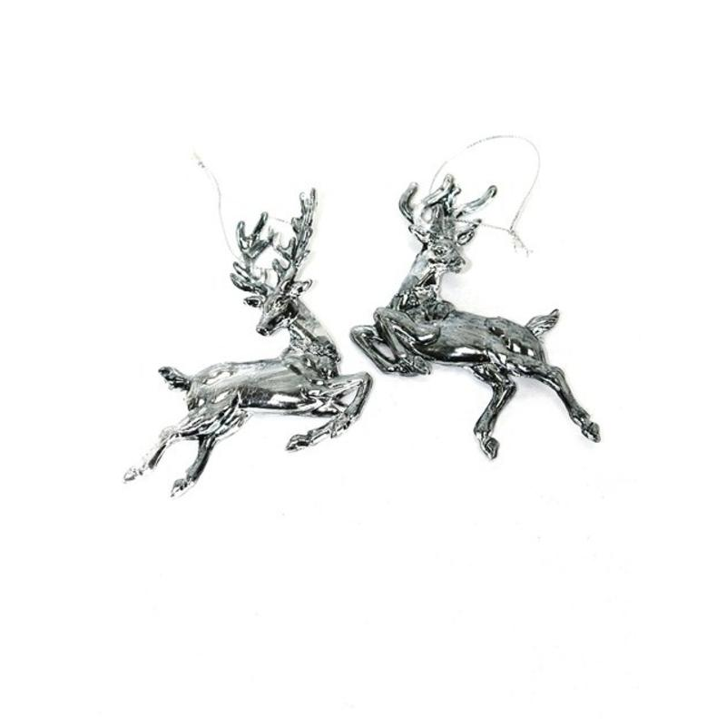 Jumping Deer Ornament