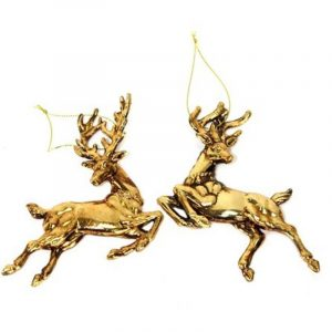 Jumping Dear Ornament