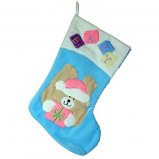 Baby stocking Blue and Pink