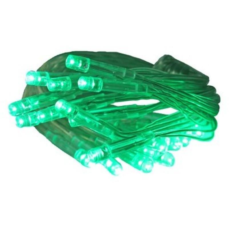 Led 20 Battery Light Green