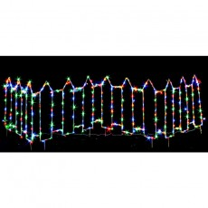 LED Light Fence