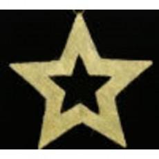 Gold Rattan Star
