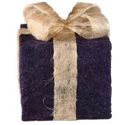 Purple Sisal Gift Box