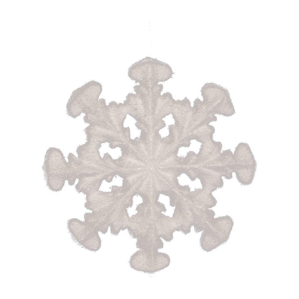 30Cm Foam Snowflake