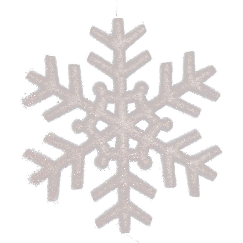 40Cm Tube Snowflake