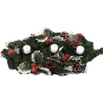 Holly Table Centre Candle Holder