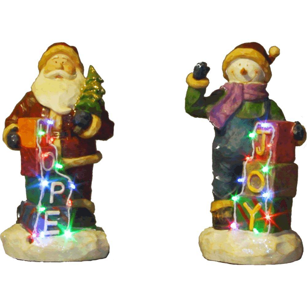 Joy Snowman Hope Santa