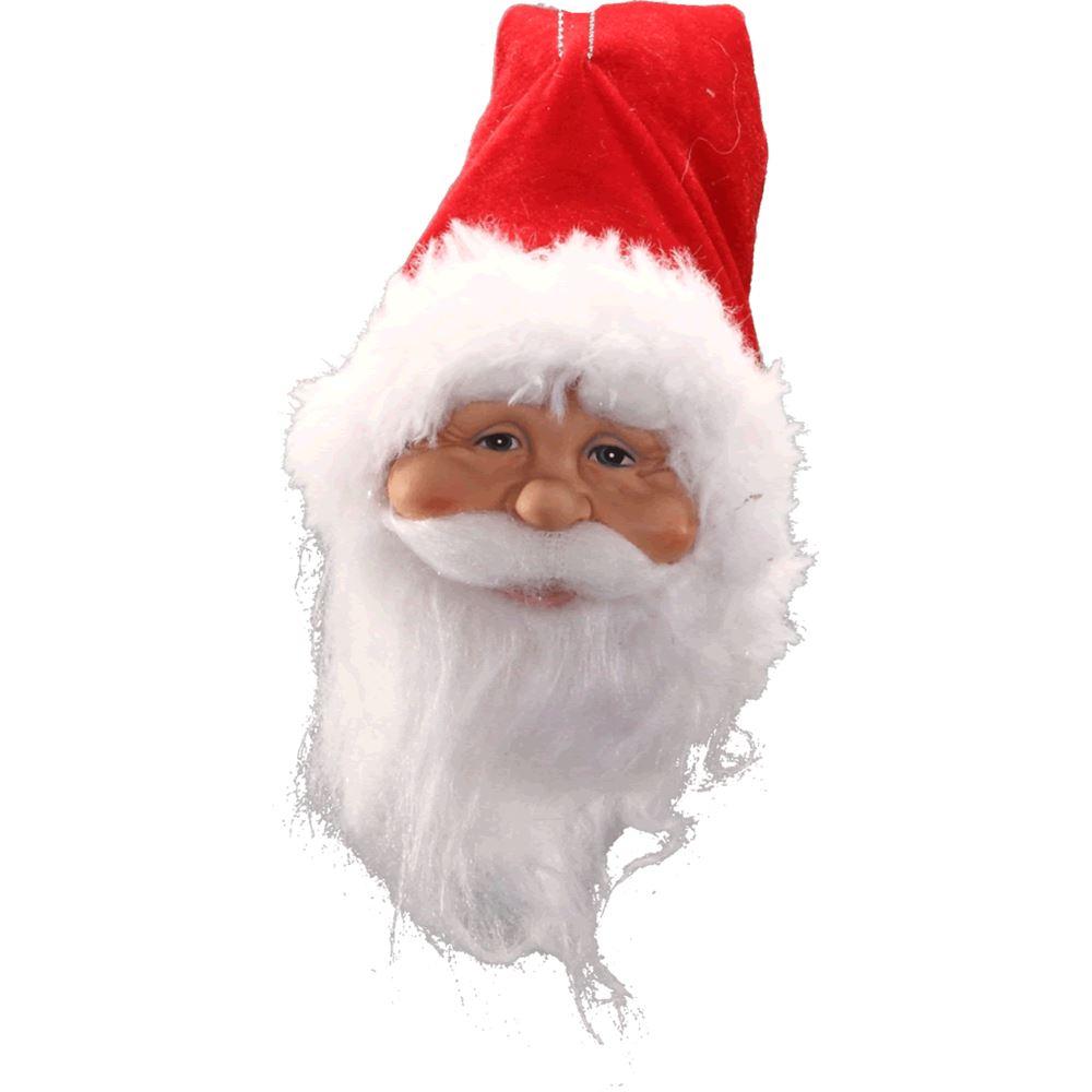 Santa Head Hanging