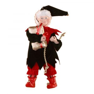 Elf Holding Gift