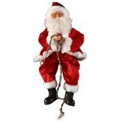 Rope Climbing Santa