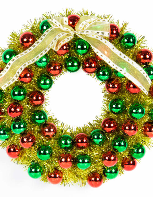 Bauble Wreath 40Cm