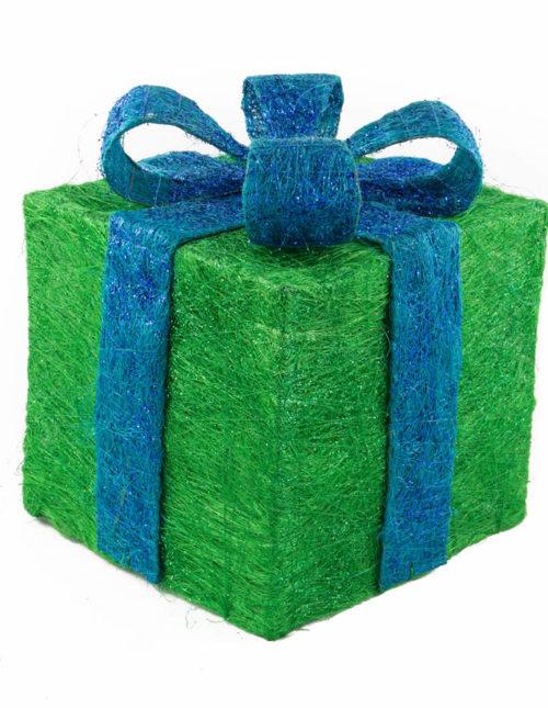 Teal Sisal Gift Box