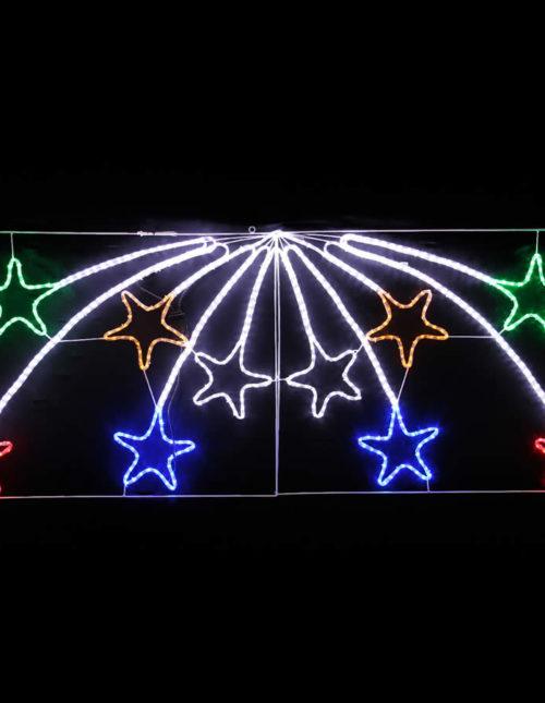 10 Shooting Stars LED Motif