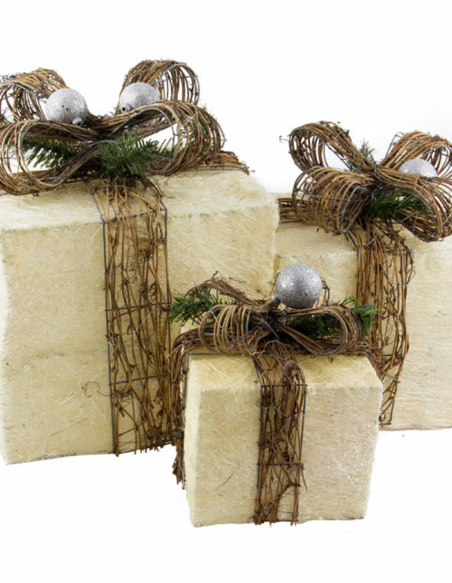Country Gift Boxes set of 3