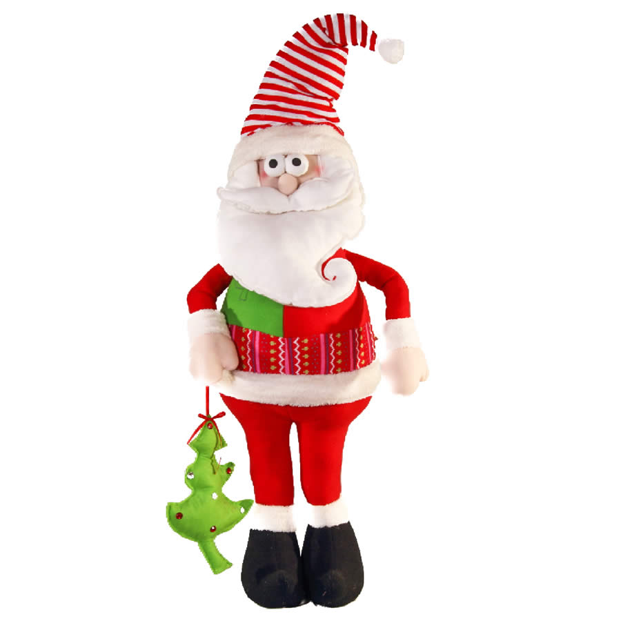 Cartoon Style Jumbo Santa - 125cm