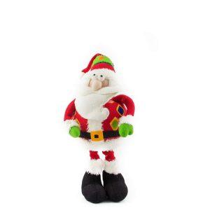 Extendible Slim Leg Santa - 58cm