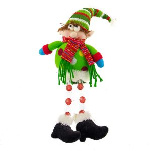 Elf With Acrylic Beaded Legs - 28cm