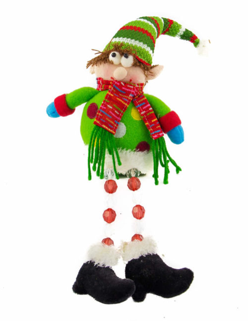 Elf With Acrylic Beaded Legs - 28cm