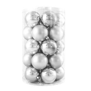 24Pk 6Cm Silver