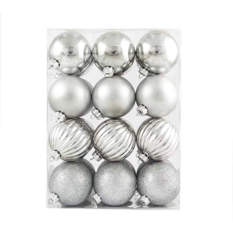 Silver 6Cm Pat 24Pk