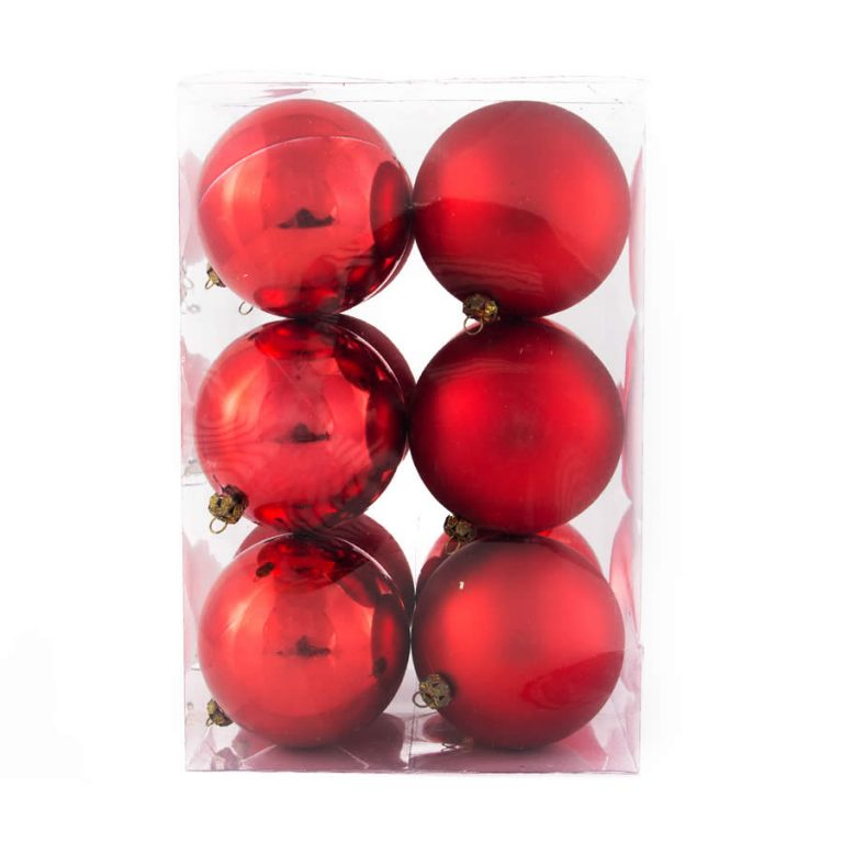 Red 8Cm 12Pk