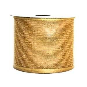 Metallic Gold Cotton Ribbon 9M