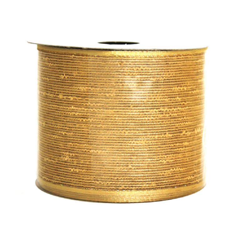 Metallic Gold Cotton Ribbon 9M