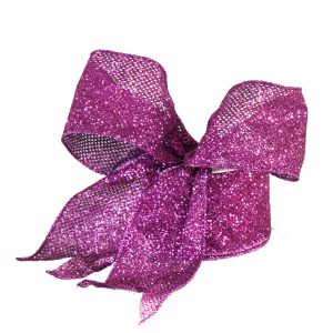 Purple Sequin Ribbon 9M