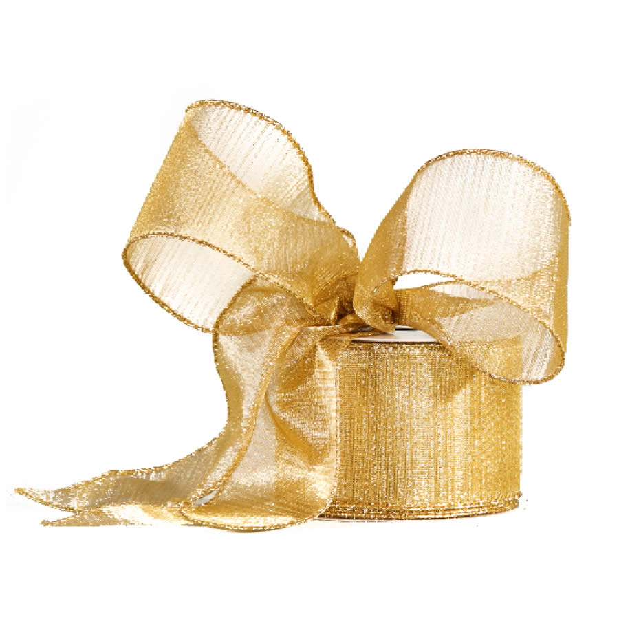 Metallic Gold Ribbon 9M