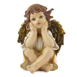 Sitting Poly Angel