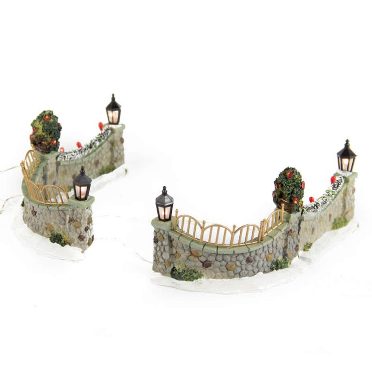 Stone Wall Set of 4 B.opp