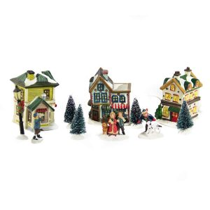 Three House Village 11pcs lights/bop